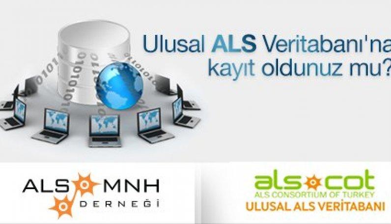 Ulusal ALS Veritabanı'na kayıt oldunuz mu?