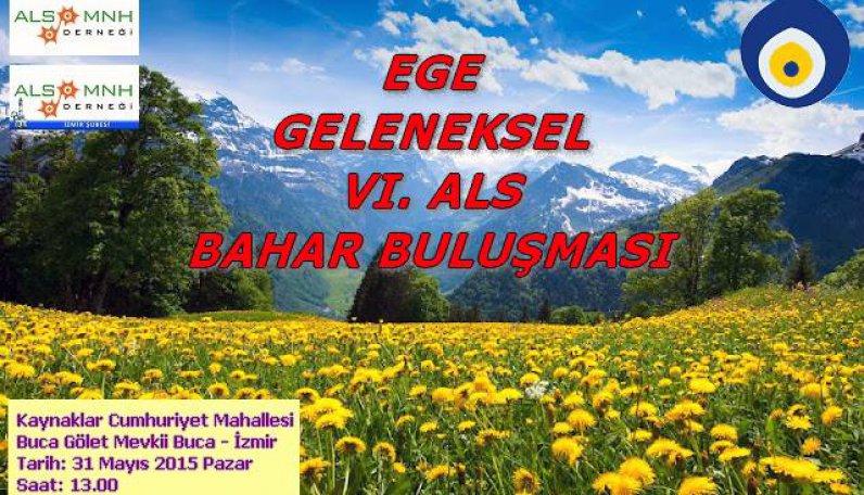 ALS hastaları 6. İzmir Bahar Toplantısı