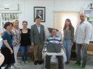 Tayvan ALS Derneği'nin Kurucu Başkanı Derneğimizi Ziyaret Etti