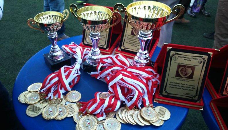 İlknur Doğan Uğurlu Futbol Turnuvasında Kupalar Sahiplerini Buldu