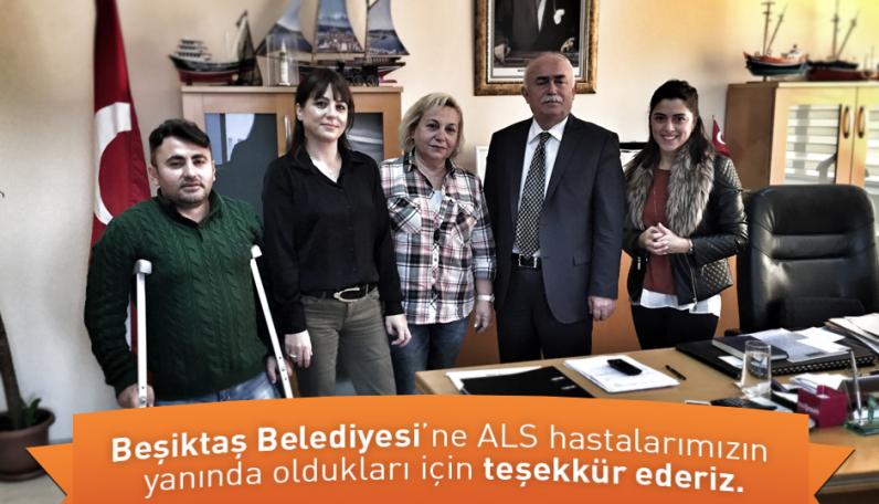 Derneğimizin Beşiktaş Belediyesi ile olan buluşması