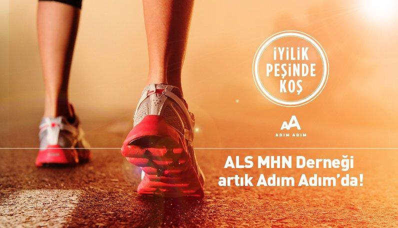 ALS-MNH Derneği, Adım Adım'la 13 Kasım İstanbul Maratonu'na hazırlanıyor