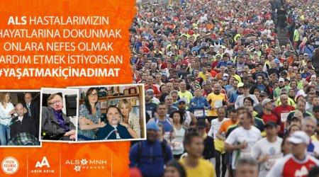 ALS-MNH Derneği, 38. Vodafone İstanbul Maratonu'na Hazırlanıyor