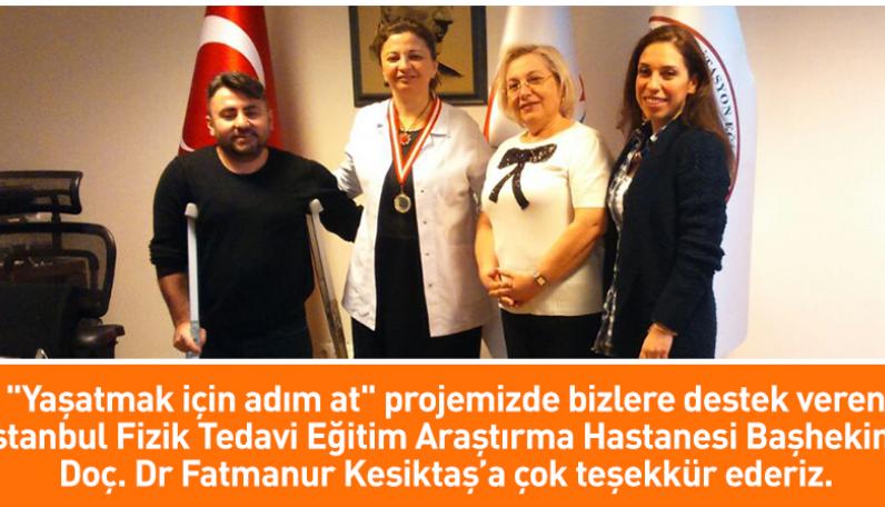 Dr Fatmanur Kesiktaş hocamızı ziyaret ettik
