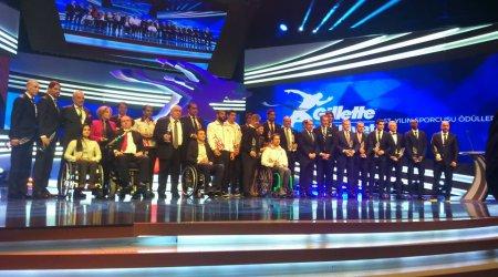 63.  Milliyet Yılın Sporcusu Ödülleri, törenle sahiplerine verildi.