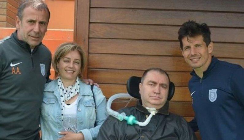 ALS'li İsmail Gökçek'ten Ilk Ziyaret Başakşehir'e