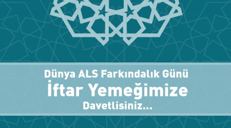 21st of June - Global ALS Day invitation
