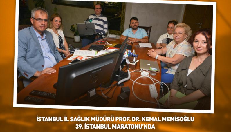 İl Sağlık Müdürü Prof. Dr. Kemal Memişoğlu'nu ziyaret ettik.