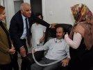 Vali Murat Zorluoğlu ALS Hastası Mustafa Çelik'i Ziyaret Etti