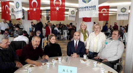 CHP Bakırköy Engelliler Komisyonu yemeğindeyiz