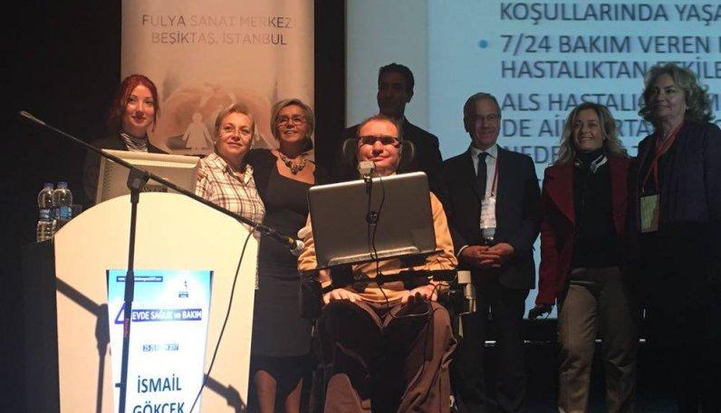 4. Ulusal ve Uluslararası Katılımlı Evde Sağlık ve Bakım Kongresine Katıldık