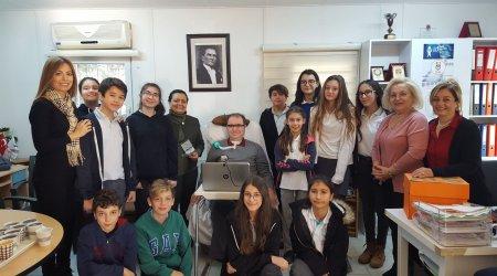 İlhami Ertem Ortaokulu students visit ALS/MND Association