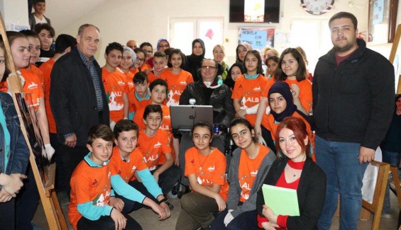 Düzce Merkez Mustafa Kemal Ortaokulu öğrencilerine çok teşekkür ederiz