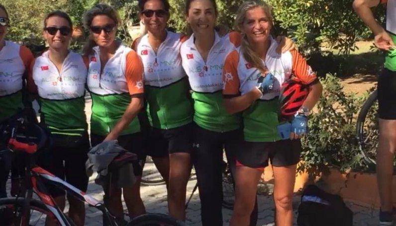 CYCLE4ALS Bisiklet turumuz  Alaçatı'da yapıldı