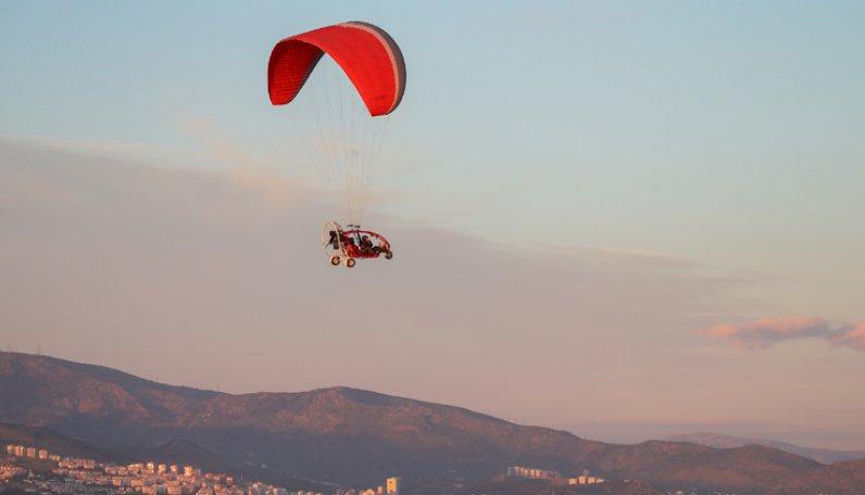 ALS hastasının 'uçma' hayali gerçek oldu