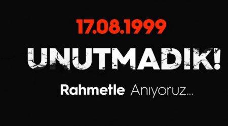 Marmara earthquake anniversary