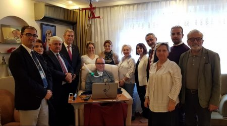 Parliamentary Commission visits patients with ALS