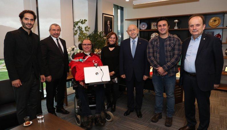 İsmail Gökçek, Nihat Özdemir'e ziyarette bulundu