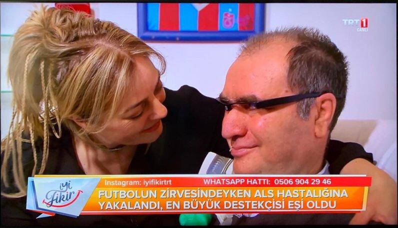 Başkanımız İsmail Gökçek'in eşi, Adalet Gökçek TRT1 de yayınlan İyi Fikir programına konuk oldu