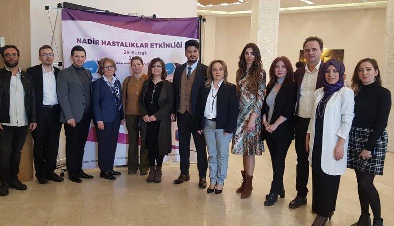Nadir hastalıklar sempozyumu, Sarıyer Belediyesi Yaşar Kemal Kültür Merkezi'nde gerçekleşti.